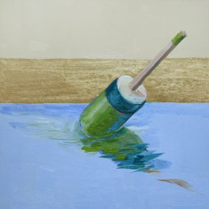 Buoy Green and Blue