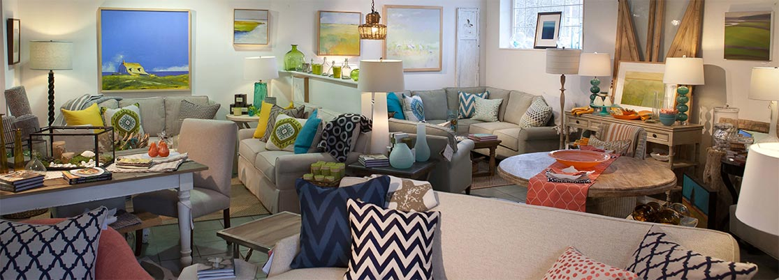 Summer House Furnishings: A unique furniture store for inspiration, fine art, and home decor on New Hampshire's Seacoast
