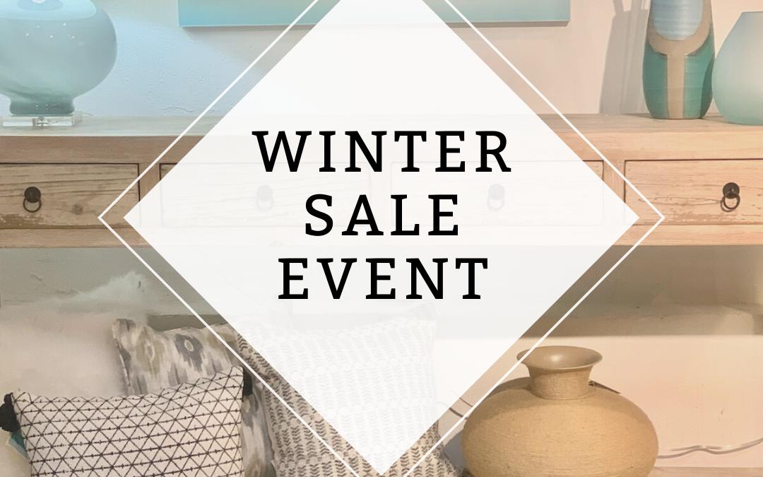 WInter sale event